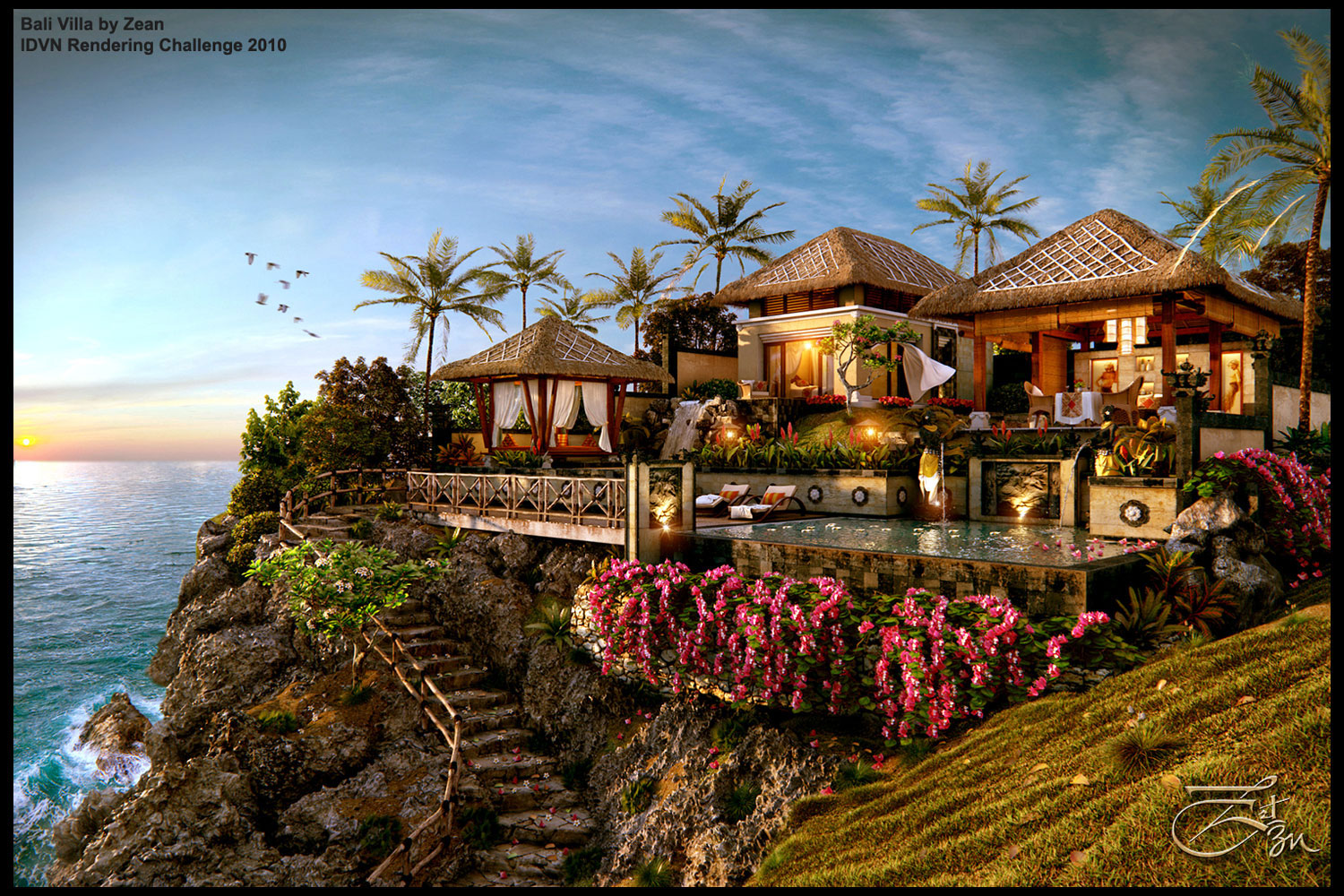 Bali what makes them special share everything by for Villas wallpaper