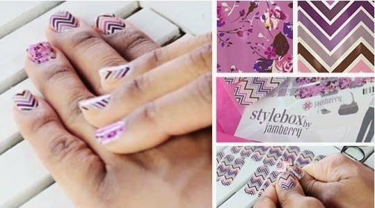 Image: Click for more information on Jamberry Nail Wraps