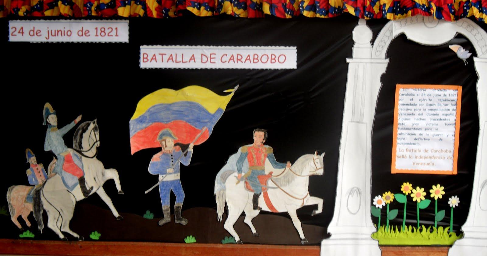 nos informa: 24 de junio de 1821.Día de la Batalla de Carabobo