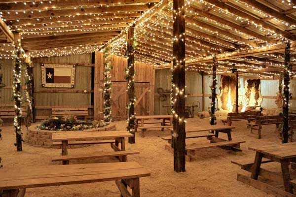 Party Lighting Design Western Party Ideas
