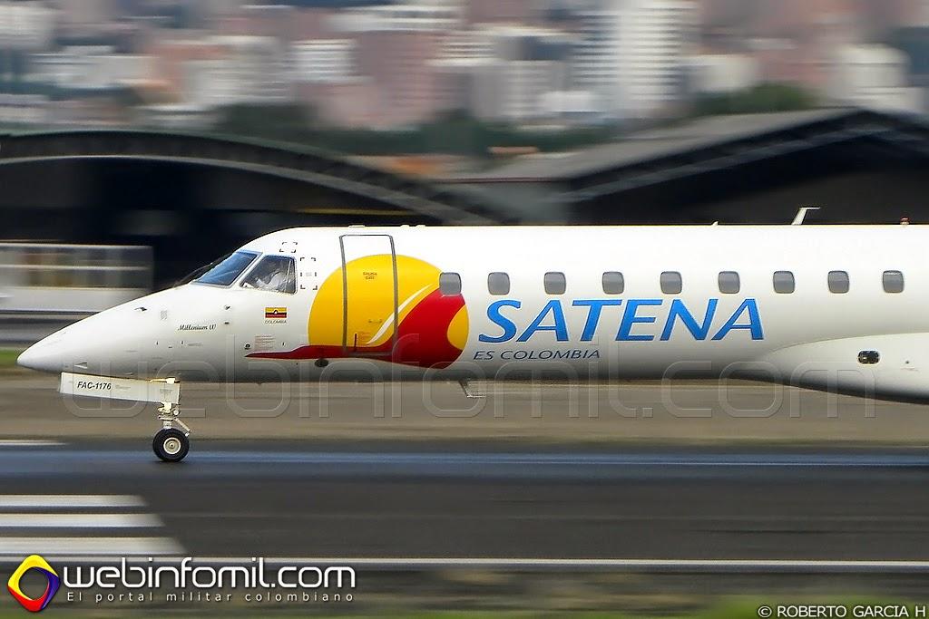 Satena Embraer ERJ 145