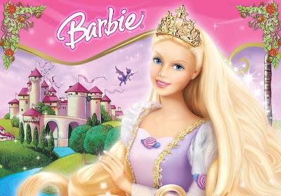 gambar kartun barbie