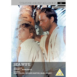 ORDER SEA WIFE STARRING JOAN &amp; RICHARD BURTON. FIRST TIME ON REG2 DVD!