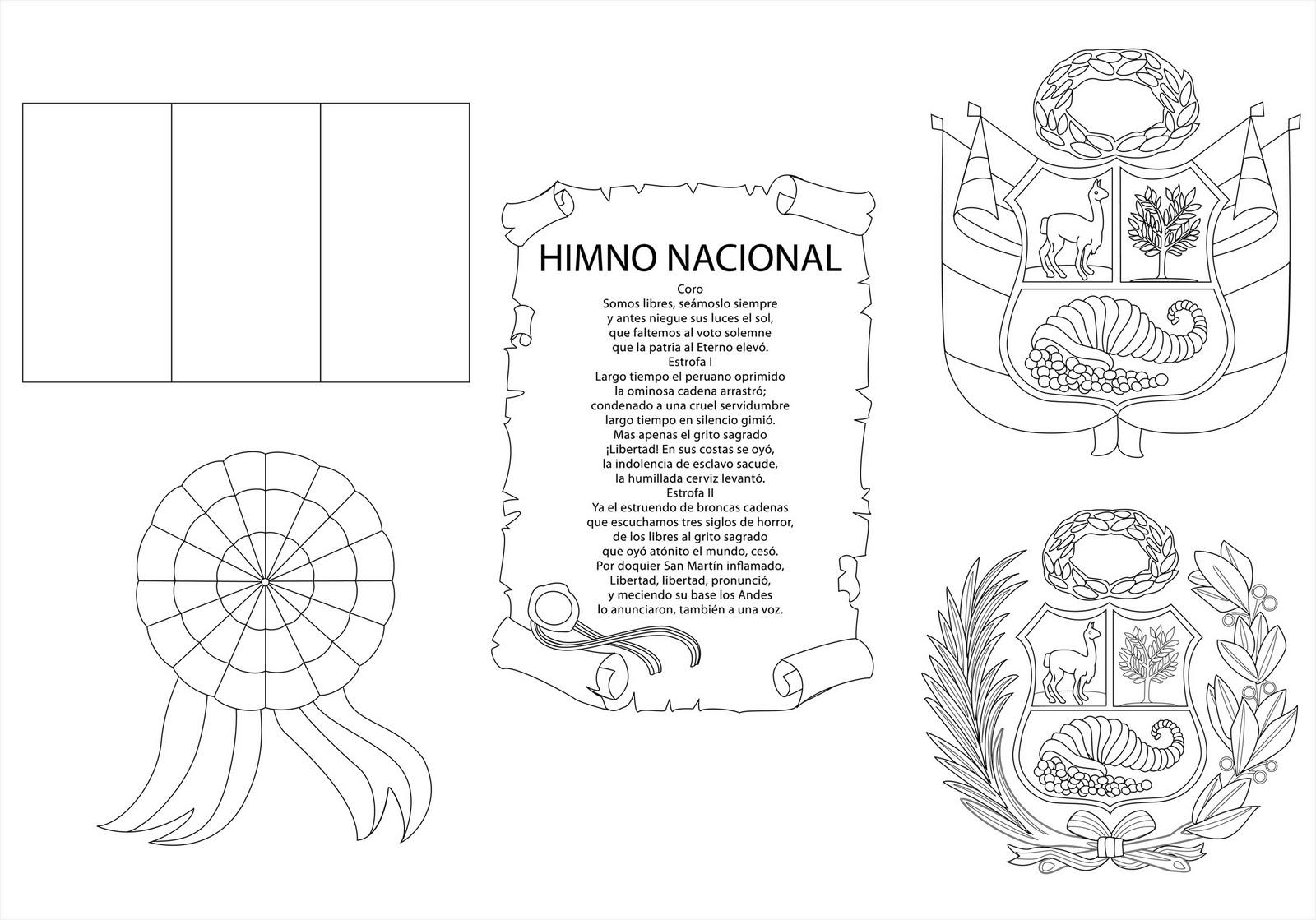 Fantástico Símbolos De Estados Unidos Para Colorear Ornamento ...
