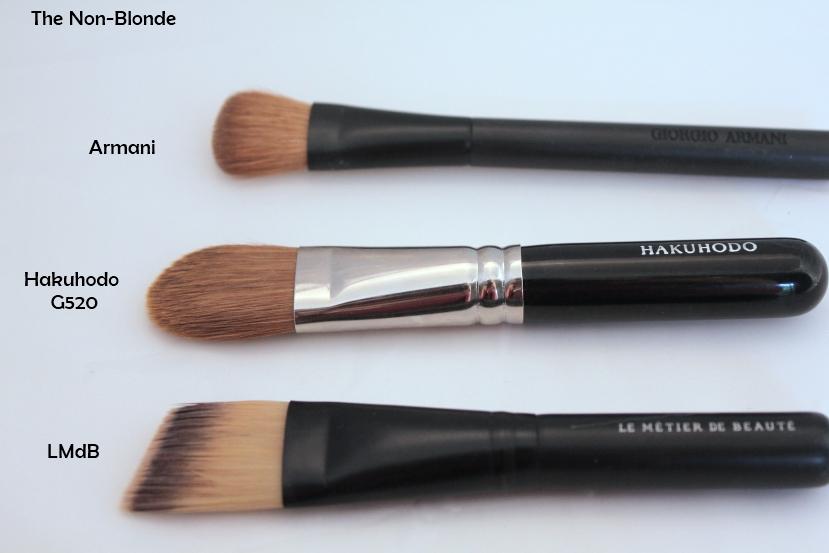 mac liquid foundation brush. foundation brushes- my favorites mac liquid brush s