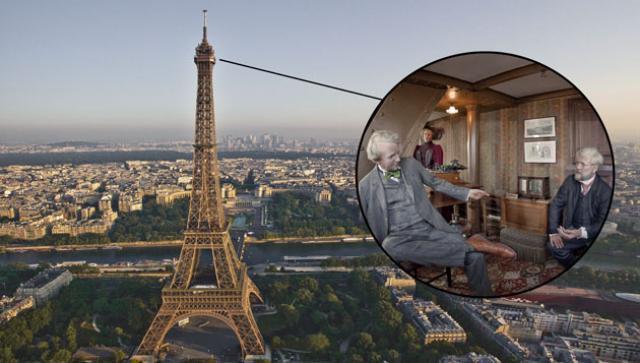 La habitación secreta de la Torre Eiffel