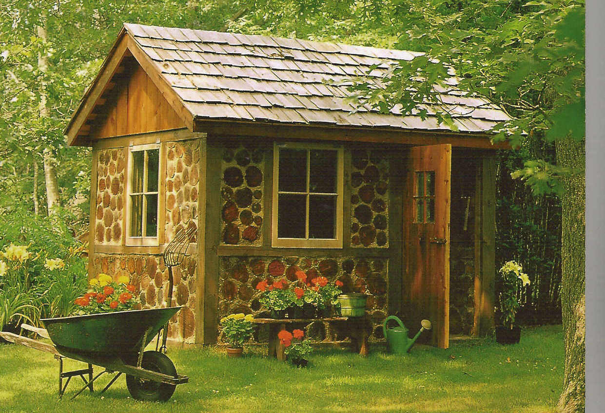 Sassafras salvation pinterest inspiration garden sheds for Garden shed plans