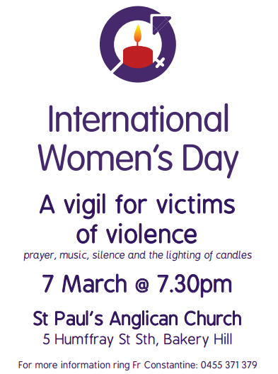 Vigil for Victims of Violence