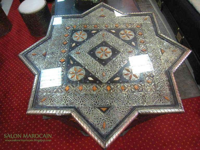 Table Marocaine Table-etoile-marocaine
