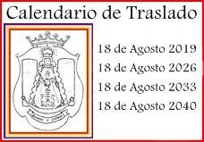 Calendario de Traslado