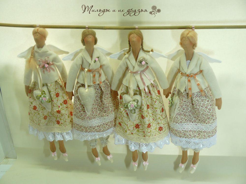 Куклы тильды и ее друзья