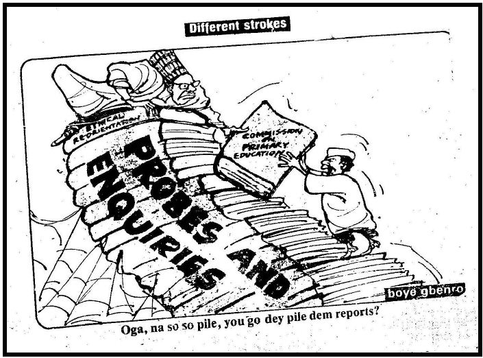 The Role Of Editorial Cartoons In Democratisation Process In Nigeria
