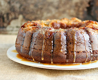 Sticky Figgy Bundt Cake