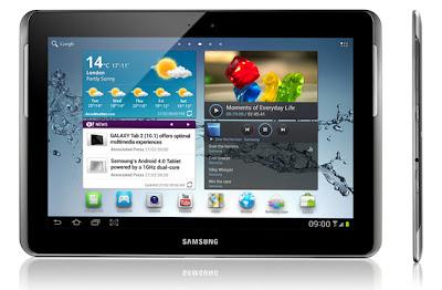 SAMSUNG Galaxy Tab 2 10.1 Espresso 16GB - White | GT-P5100ZWAXSE