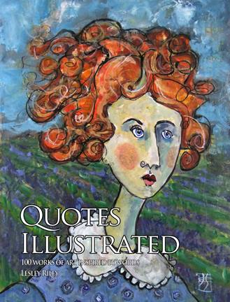 My painting of Emily makes the cover of Quotes Illustrated