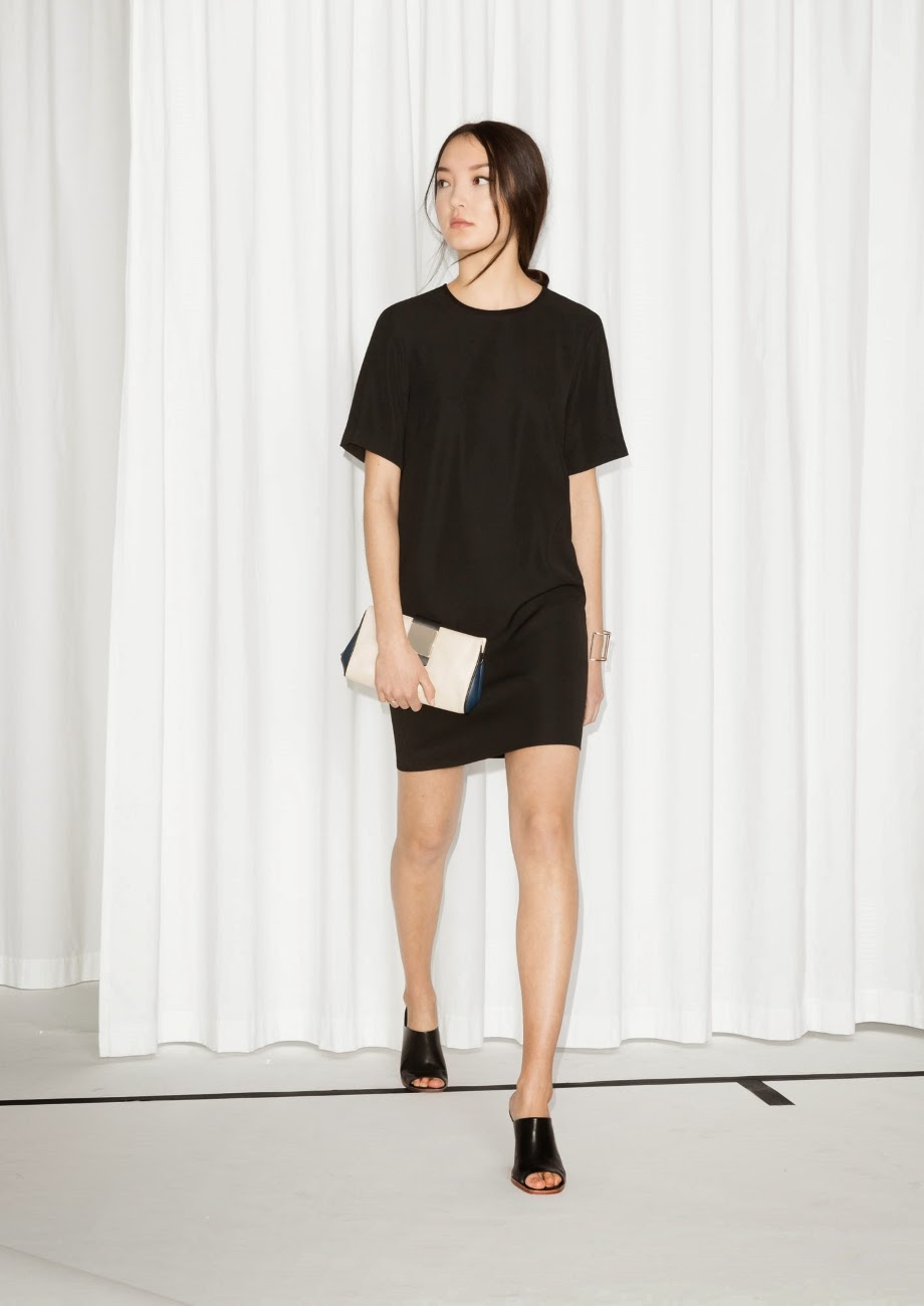 stories black tee dress