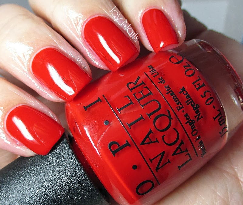OPI Big Apple Red - Notes from My Dressing Table