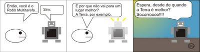 Ball e o Robô Multitarefa (tirinha)