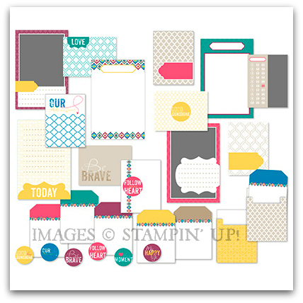 Be Brave Pocket Cards Digital Kit by Stampin' Up!