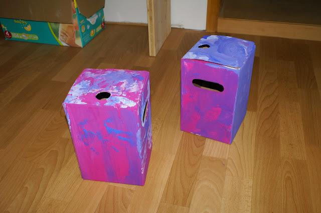 Kinder malen zum Verschenken