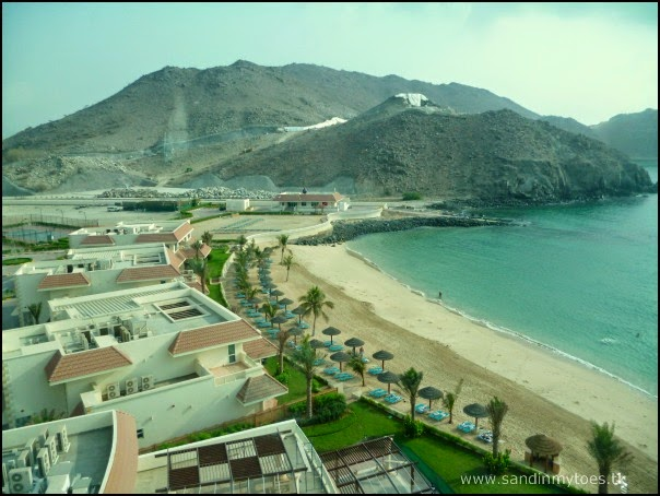 View from Oceanic Khorfakkan