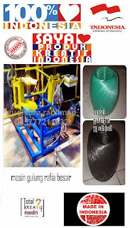 mesin gulung rafia besar Indonesia