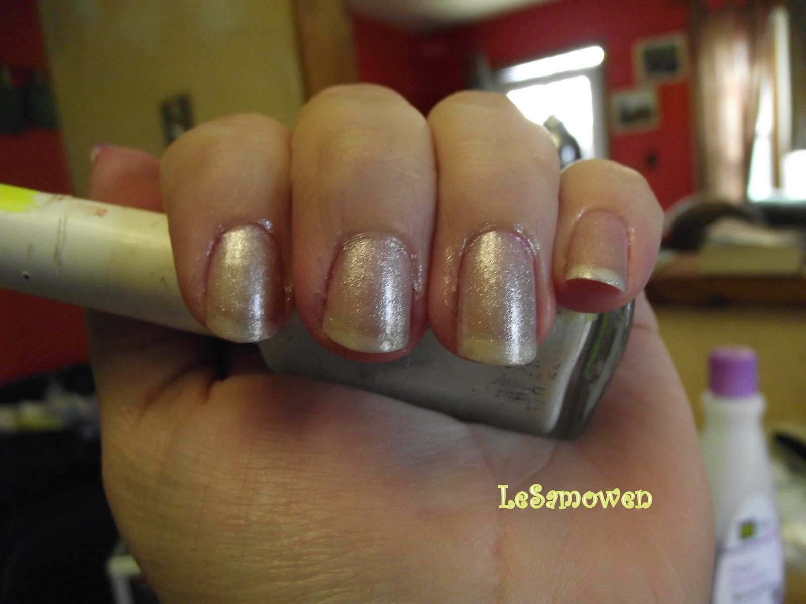 how to clean makeup sponges with nail polish