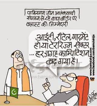 Pakistan Cartoon, Terrorism Cartoon