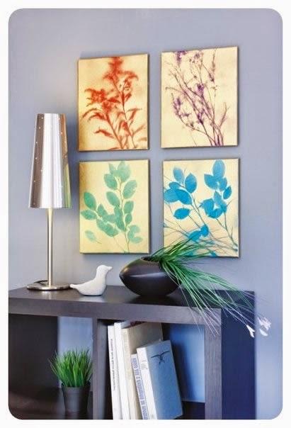Haz cuadros decorativos con plantas naturales mimundomanual for Cuadros bonitos y modernos