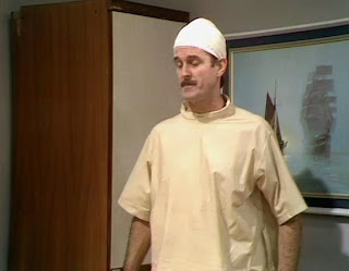 Fawlty in hospital