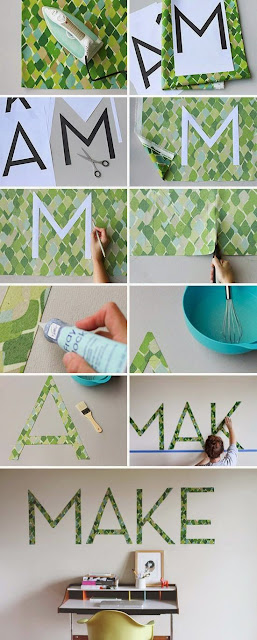50+ Monogram Wall Art Decor Ideas #CreativeCollections