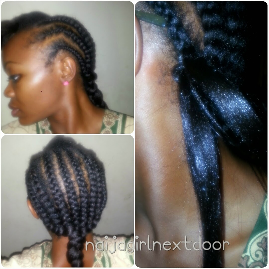 I Style Crochet Weave Naija Girl Next Door
