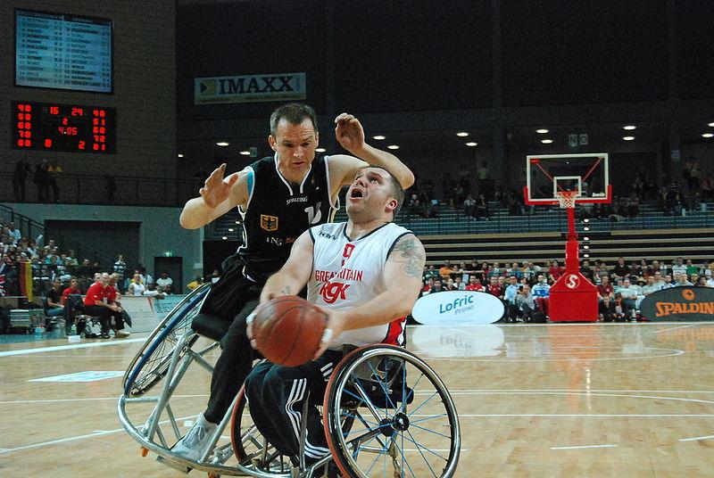 Deportes para discapacitados - Baloncesto silla de ruedas ...