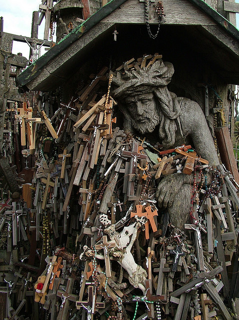 Hill of Crosses Haunted The Haunting Hill of Crosses