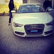 Girl in Audi