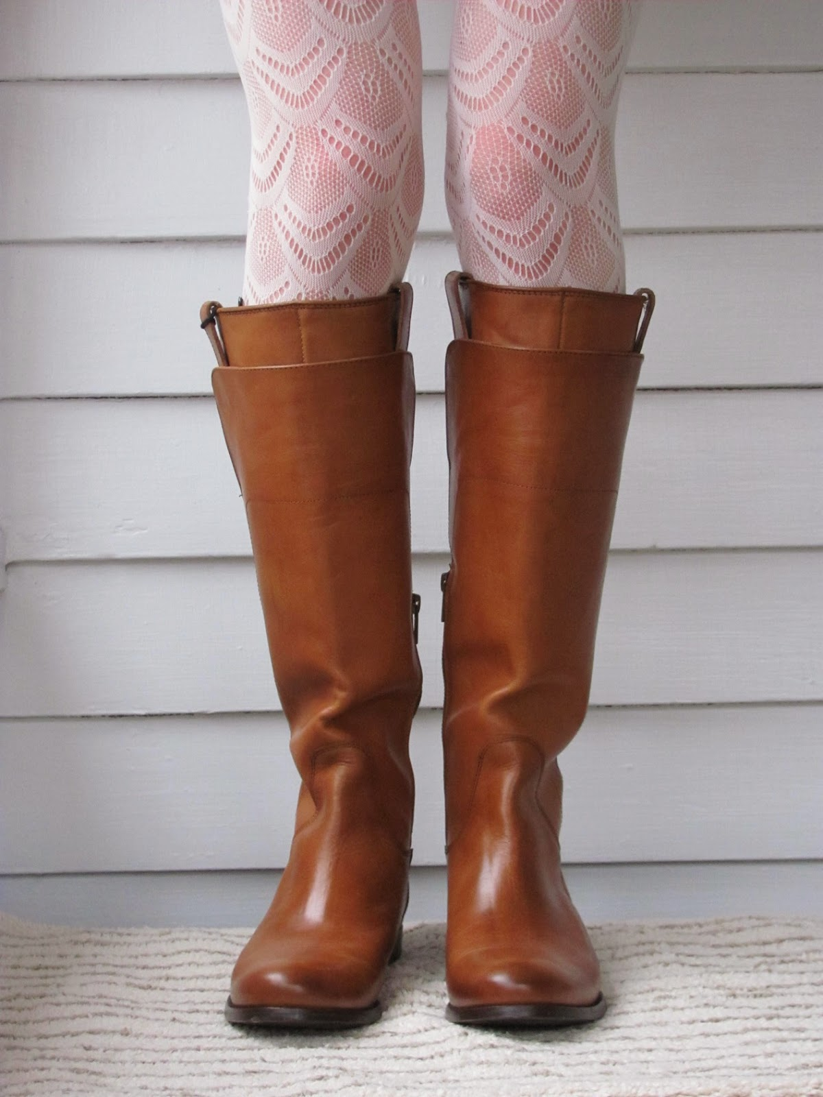 Howdy Slim! Riding Boots for Thin Calves: Frye Melissa Tall Riding