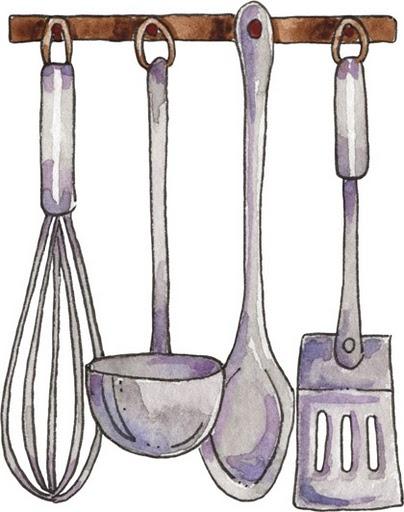 Imagenes de trastes de cocina dobujos imagui for Trastes de cocina
