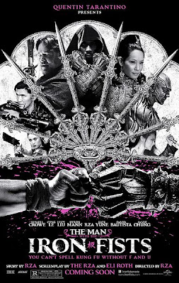 Filme Poster The Man With The Iron Fists HDRip XviD & RMVB Legendado