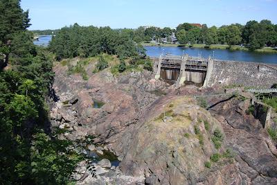 Trollhattan Falls - empty