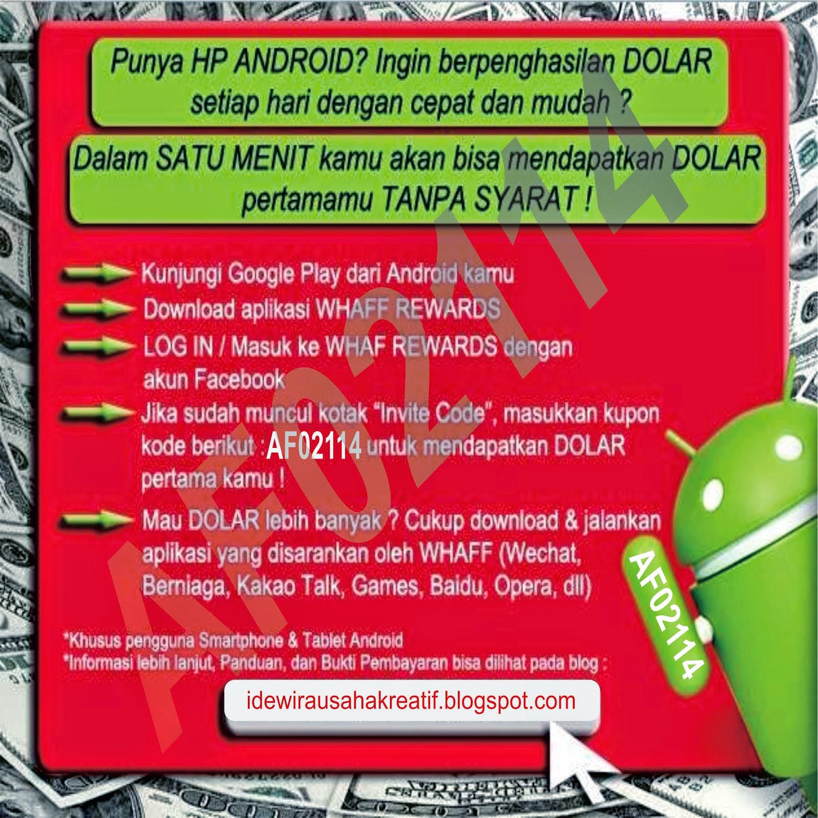$$$ lewat HP Android