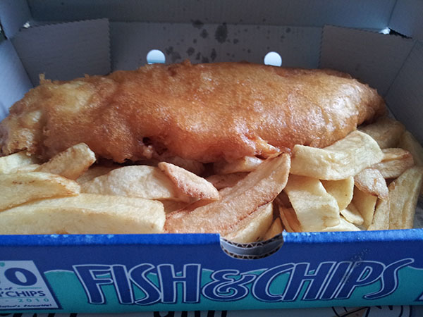 Chip Shop Saveloy Sure It's a Fish And Chip Shop