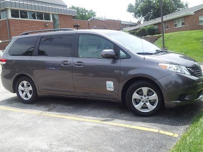 Lou Fusz Toyota, Sienna minivan, HavenHouse St Louis