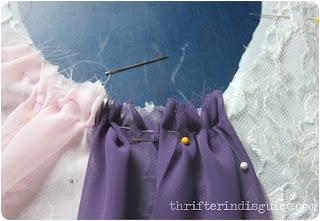 Hand Sew Skirt Portions