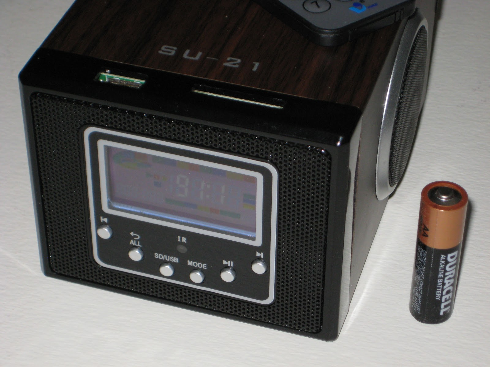 Wise time with arduino fm radio mp player module