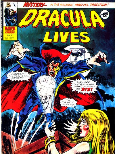 Marvel UK, Dracula Lives #7