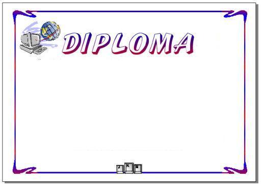 Diplomas en blanco para rellenar e imprimir - Imagui