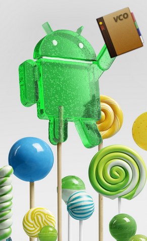VCOrganizer runs on Android 5.0 Lollipop