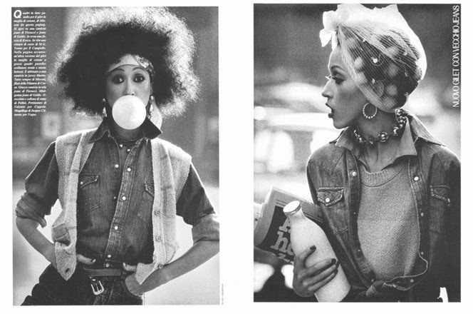 Pat Cleveland by Peter Lindbergh for Vogue Italia (March 1981)   Ses Rêveries