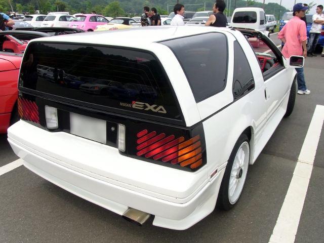 Nissan Exa, mało znane samochody, unikalne, ciekawe, japońskie auta, JDM, zdjęcia