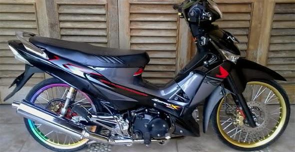 Foto dan Gambar Modifikasi Honda Supra X 125 Keren